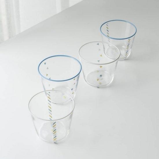 【新商品】全ての工程が手づくり。当店別注「北欧」カラーのグラスが出来ました。