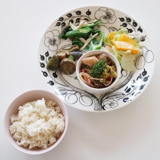 【クラシコムの社員食堂】5種類の茄子が集まった社食でした!
