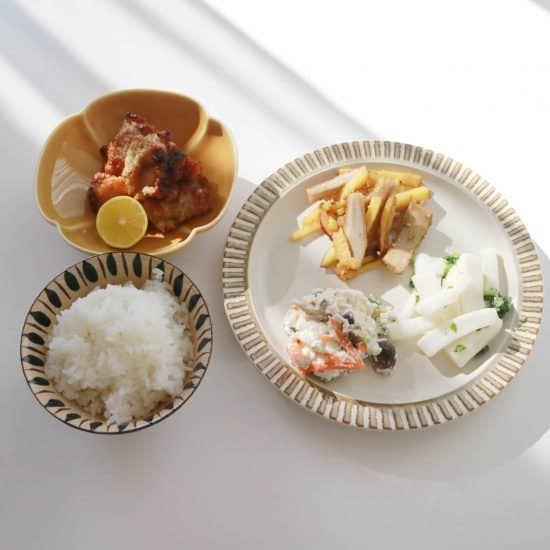 【クラシコムの社員食堂】秋の野菜は紅葉の色?社食のテーブル上も紅葉色になりました!