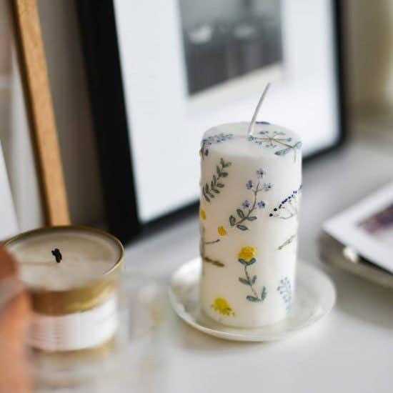 【当店別注】nuri candleと一緒にオリジナルのキャンドルを作りました!