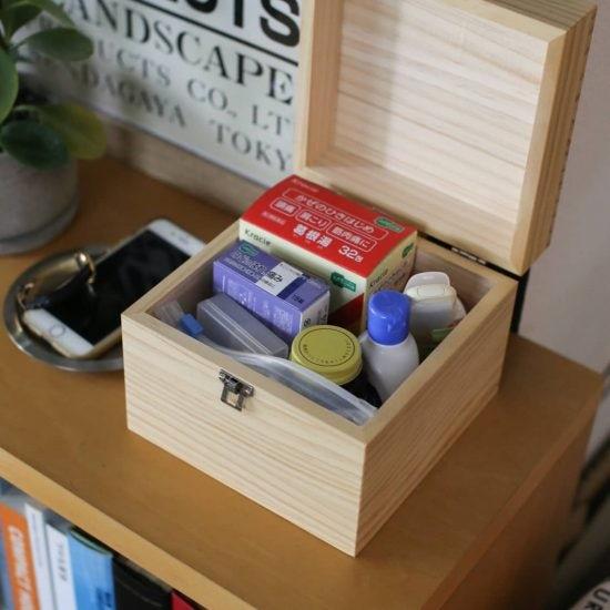 【スタッフの愛用品】自分を励ましてくれる、ましかくの「くすり箱」。