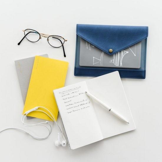 【新商品】「クラシ手帳」と一緒に使いたい、マルチケースとノート3冊セットをつくりました!