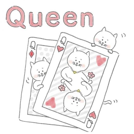 【ネコかるたイングリッシュ】「Q」から始まる…「queen」