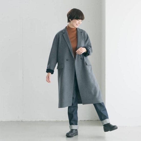 【数量限定】オリジナルのコートが初登場!軽くてあったか着こなし3WAY♪冬の相棒にぴったりな1着をつくりました。