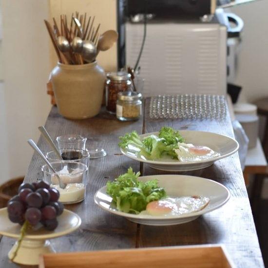 【わが家の朝支度】朝ごはんがバロメータ、家族と自分の「今日の調子」に向きあう朝じかん(経塚加奈子さん)