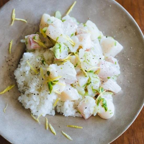 【失敗しないごちそう】第3話:食材の組み合わせが決め手!「鯛とホタテの柚子ちらし」