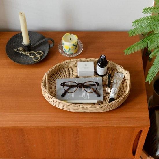 【新商品】何を置いてもかわいく佇む、水洗いできるかごトレーの登場です!