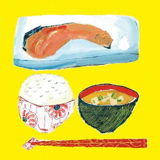 【わが家の朝支度】朝ドラと母が作る和食。心身ともに健康でいるためのルーティン(イラストレーター・椎木彩子さん)