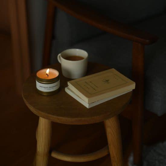 【新商品】いつもの部屋を、ちょっとした非日常空間にしてくれるアロマキャンドルが登場です。