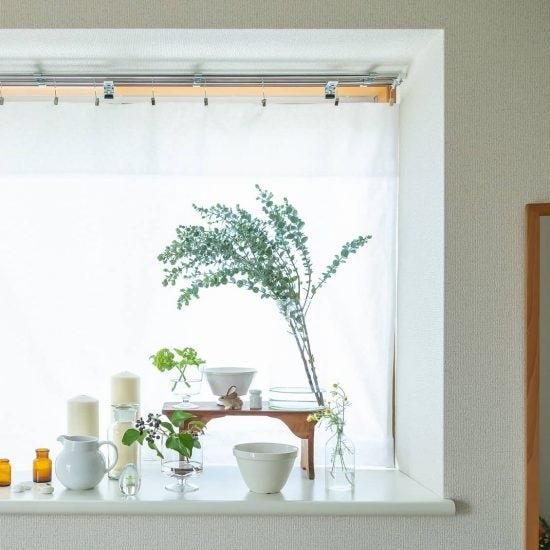 【出窓のインテリア】「カーテン選び」で印象は決まる?出窓を生かした布選びのポイント