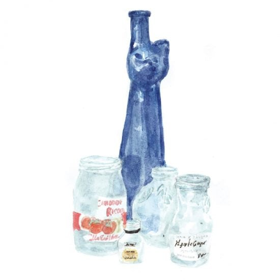 【あると、うれしい】文字があるから締まる。すんなりキマる、「捨てられない空き瓶」のチカラ。
