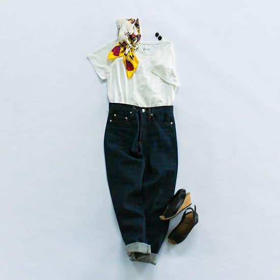 【夏のお出かけ】前編:夏のおしゃれの新定番に!大人のTシャツコーディネート