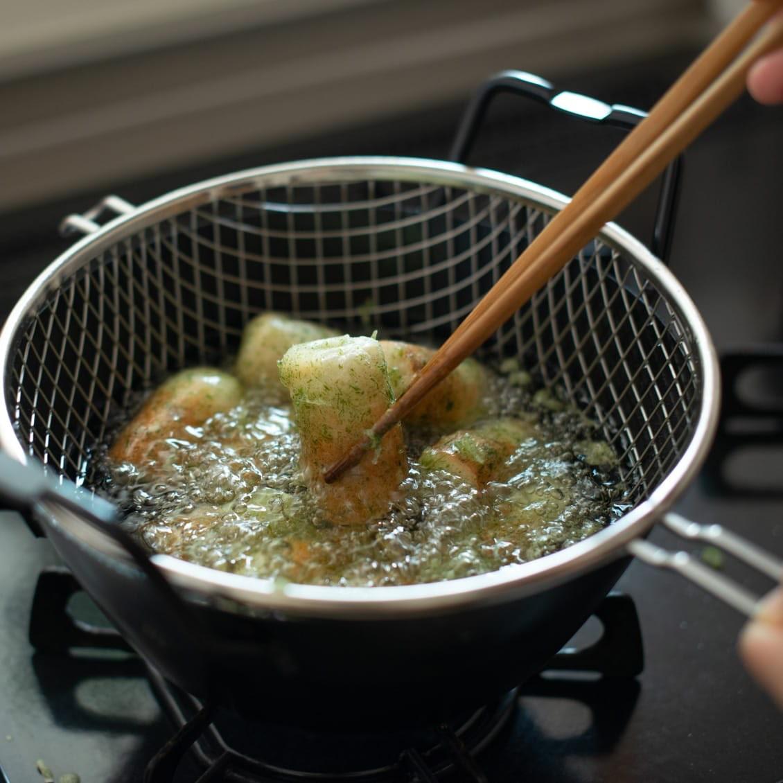 【スタッフの愛用品】苦手を克服!ラバーゼの揚げ鍋セットで揚げ物がとにかく楽しくなった♪