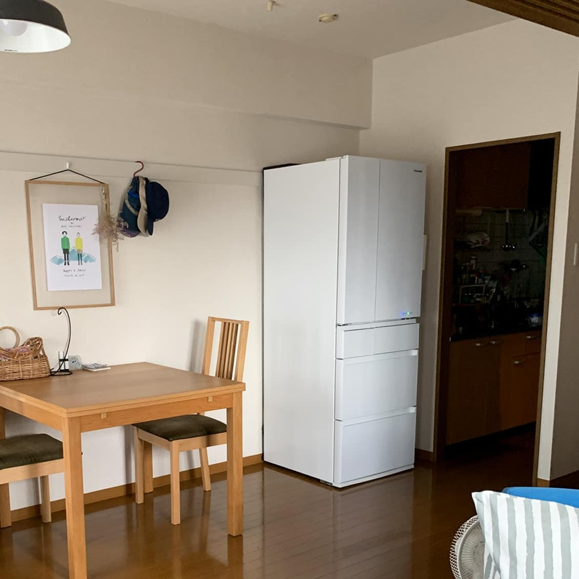 【バイヤーのコラム】新しい冷蔵庫。我が家のリビングにやってきた!
