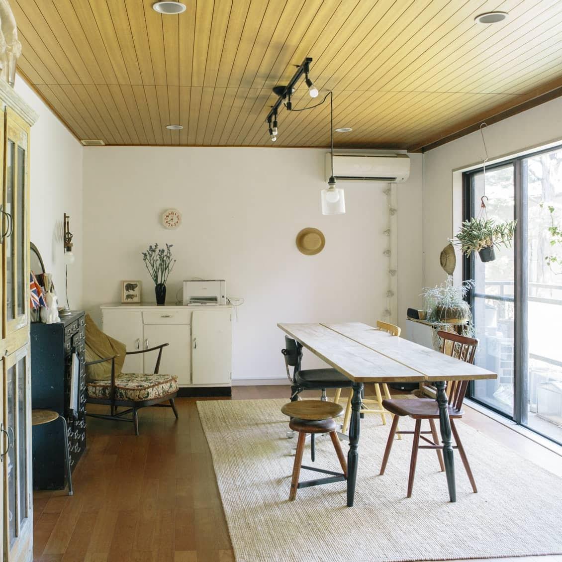 【訪ねたい部屋】第1話:築40年の賃貸マンション。簡単DIYで、あこがれのインテリアを実現。