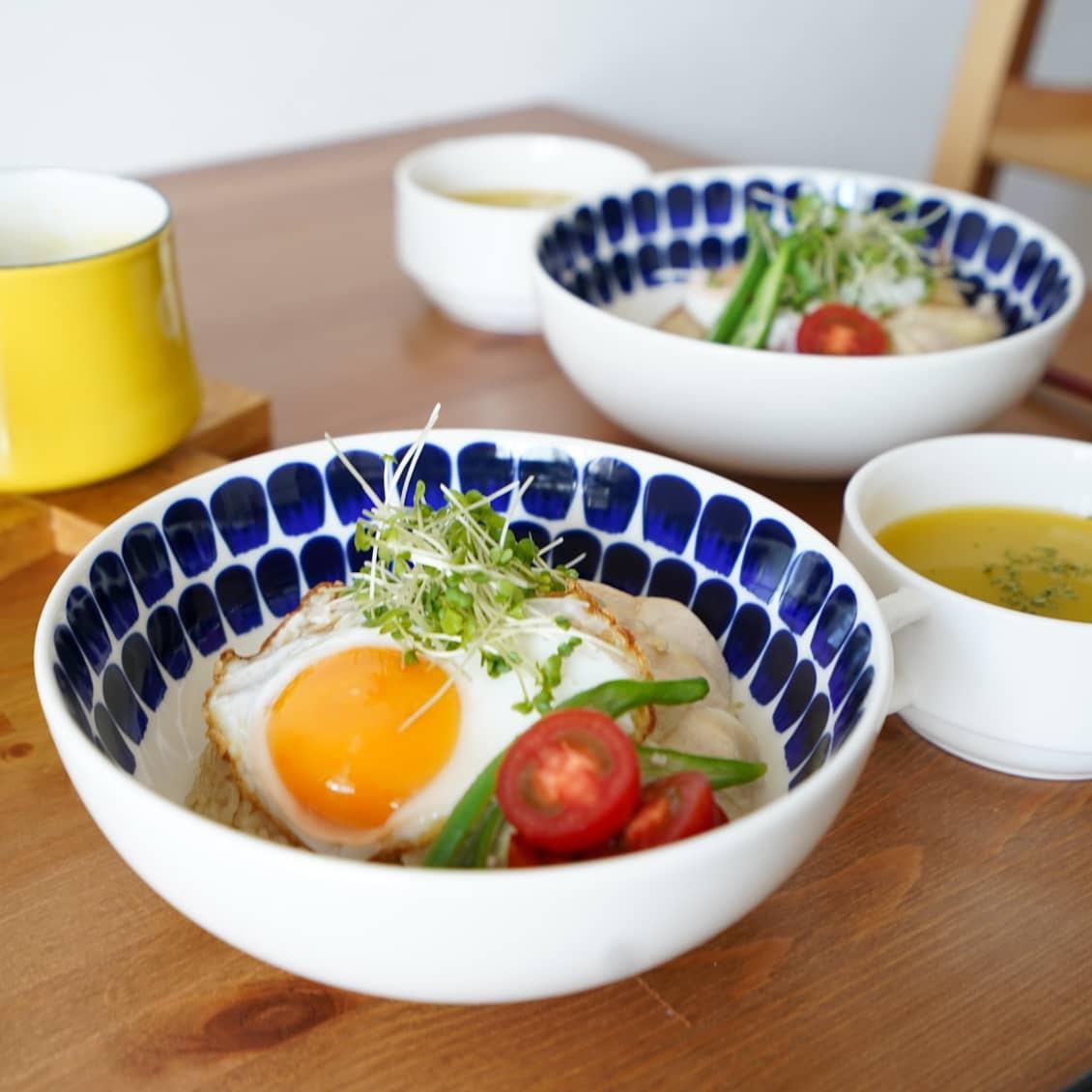 【スタッフの愛用品】盛り付けしやすいのが良い!TUOKIOのボウルが毎日の食卓で活躍中です