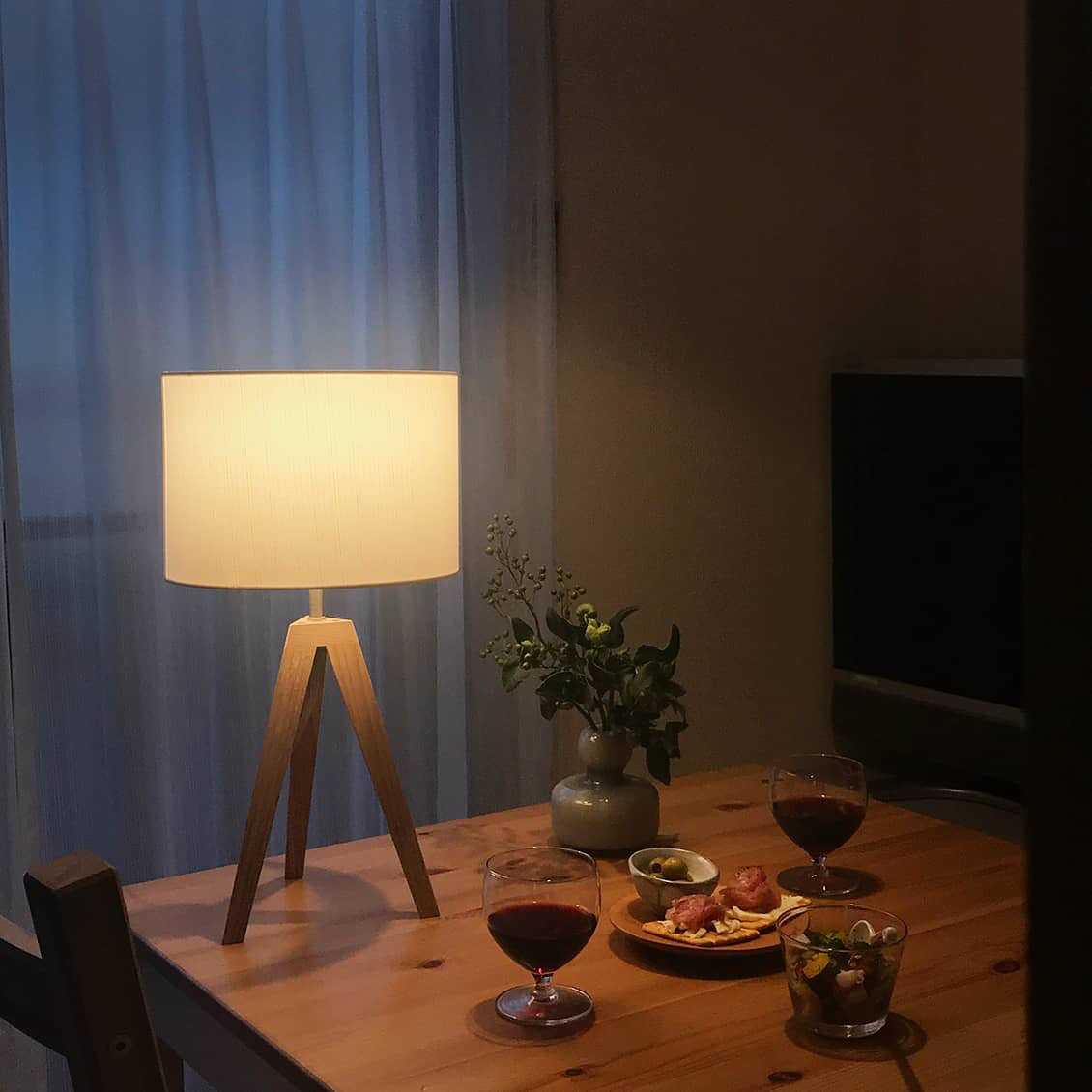 【スタッフの愛用品】温かな明かりでリラックスタイムを演出。夜時間がもっと好きになりました