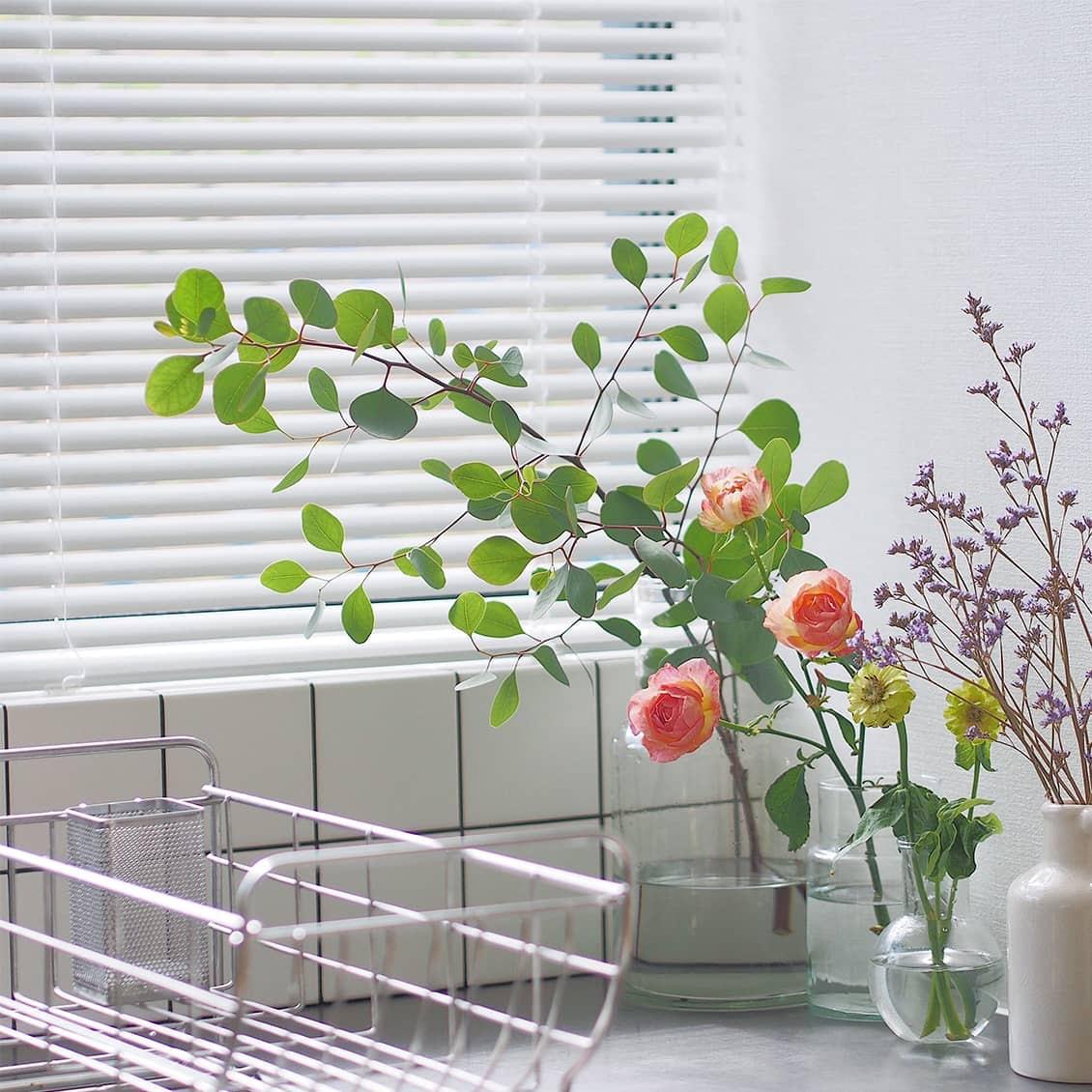 【スタッフの愛用品】大切な大切な、普通のガラス花瓶