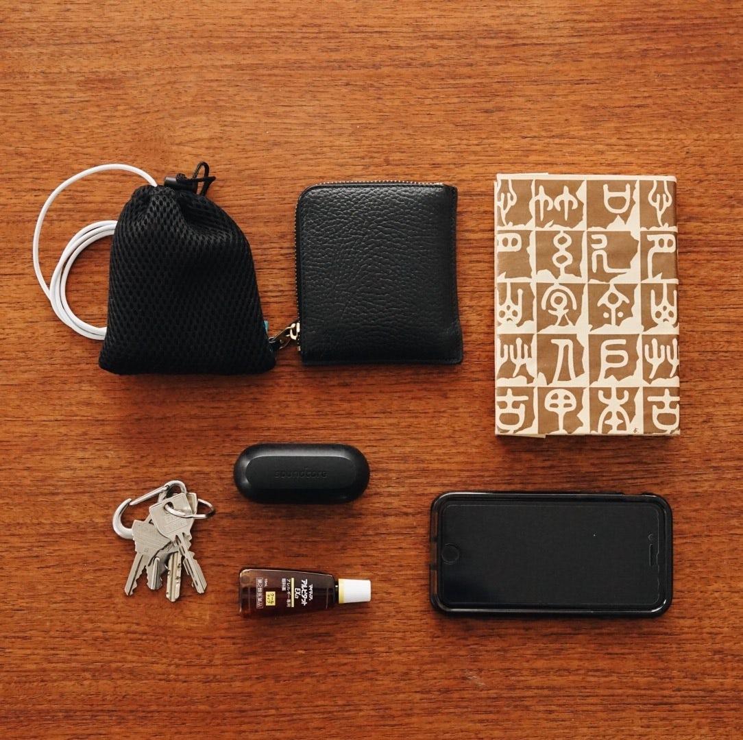 【僕のおやつ日記】なんとか克服したい、苦手なバッグの中の整理整頓。