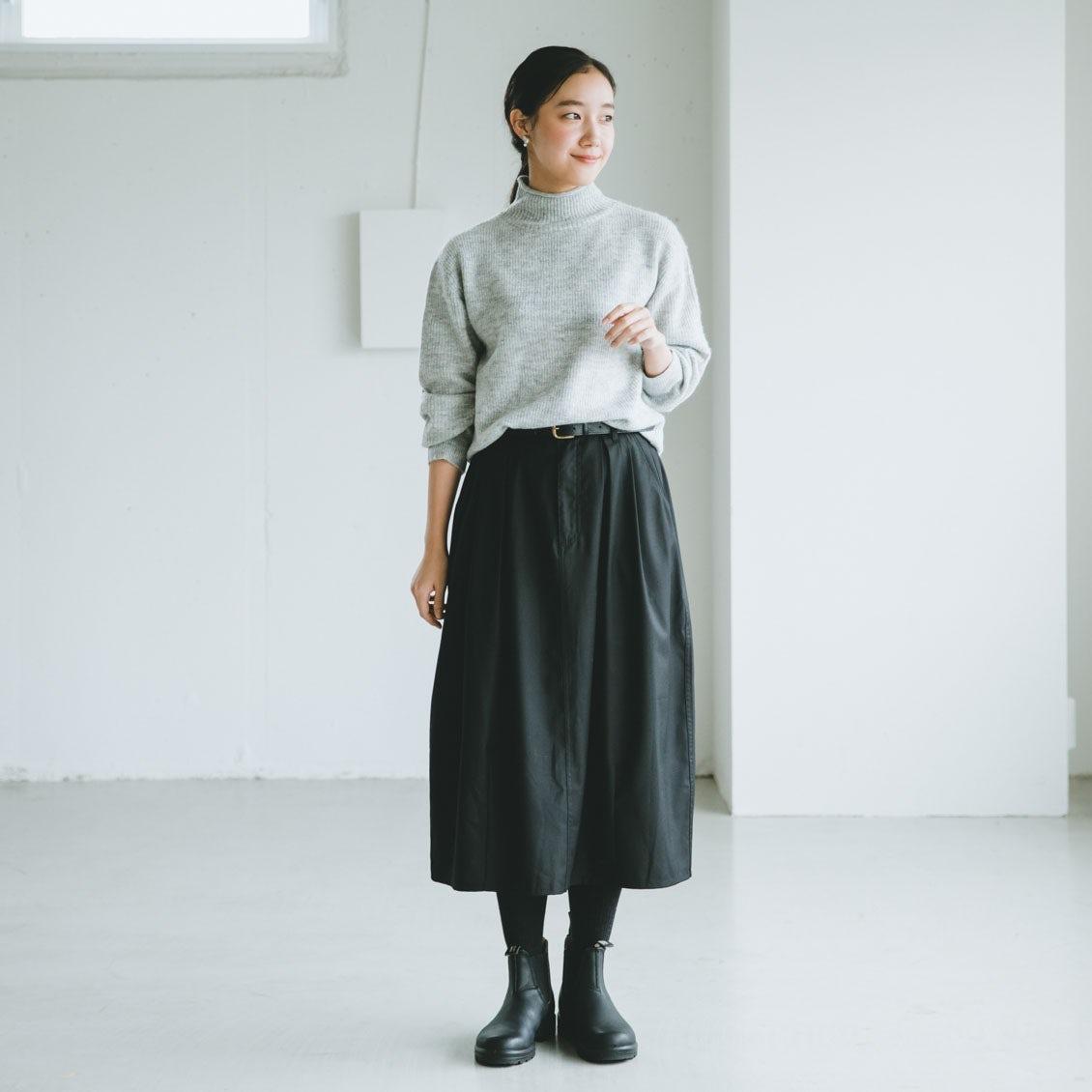 【新商品】今年の冬は、寒さ知らず。お出かけ中もしっかりあたたかい「コクーンスカート」が新登場です♪