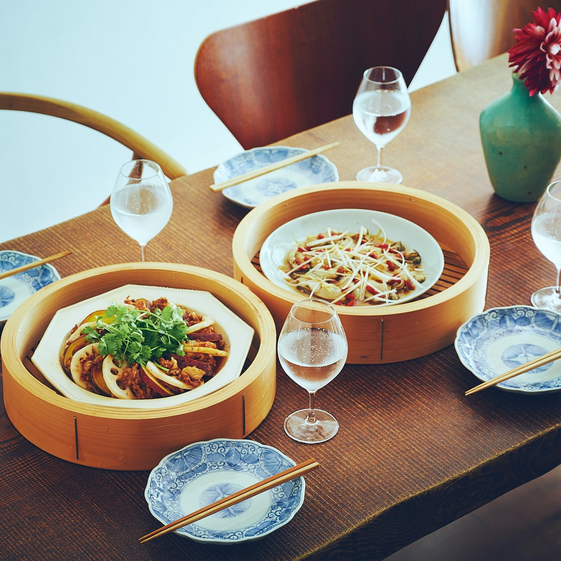 【せいろのある食卓】後編:せいろで一度に2品完成! 旬を味わうリッチな夕ごはん