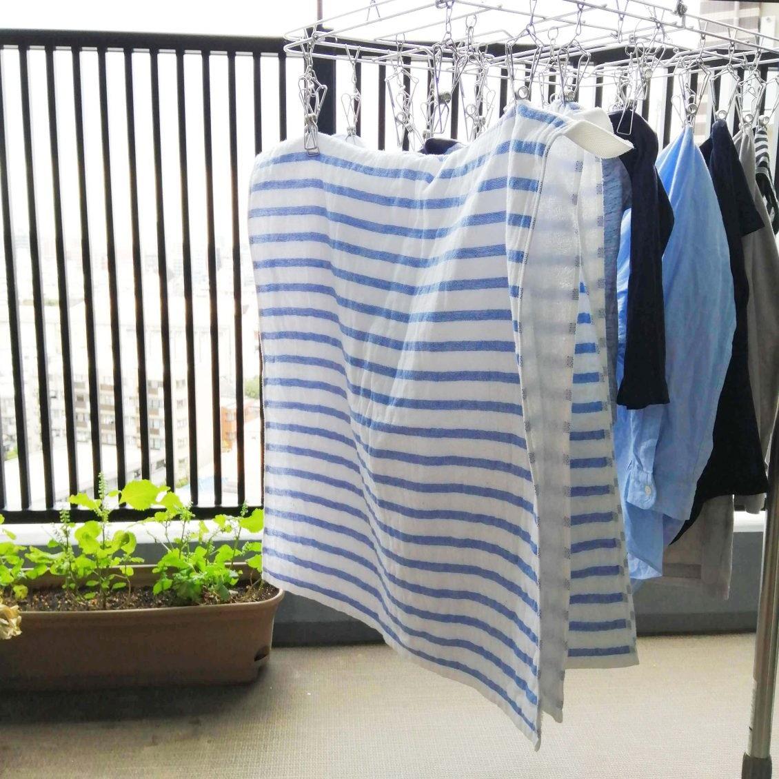 【スタッフの愛用品】コンパクトさが、我が家にぴったり!クラスカのバスタオル