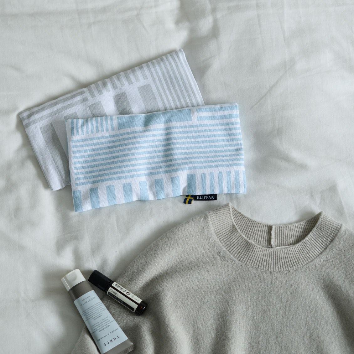 【新商品】日本限定アイテム! あのKLIPPANから北欧テキスタイルの「アイピロー」が新登場です♪