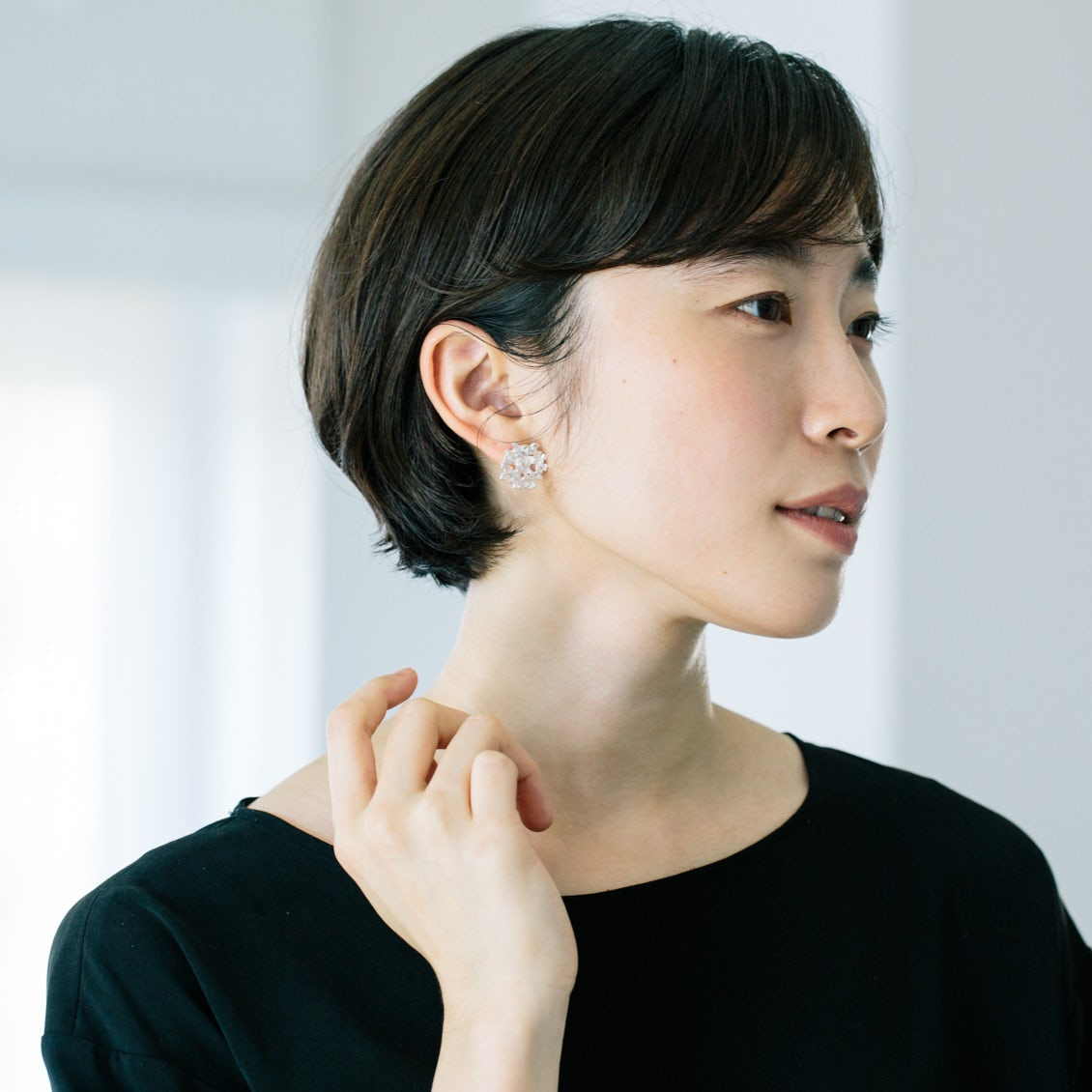 【新商品】耳元に大人のきらめきを。作家・nakagawa kumikoさんのイヤリングとピアスが新登場です!