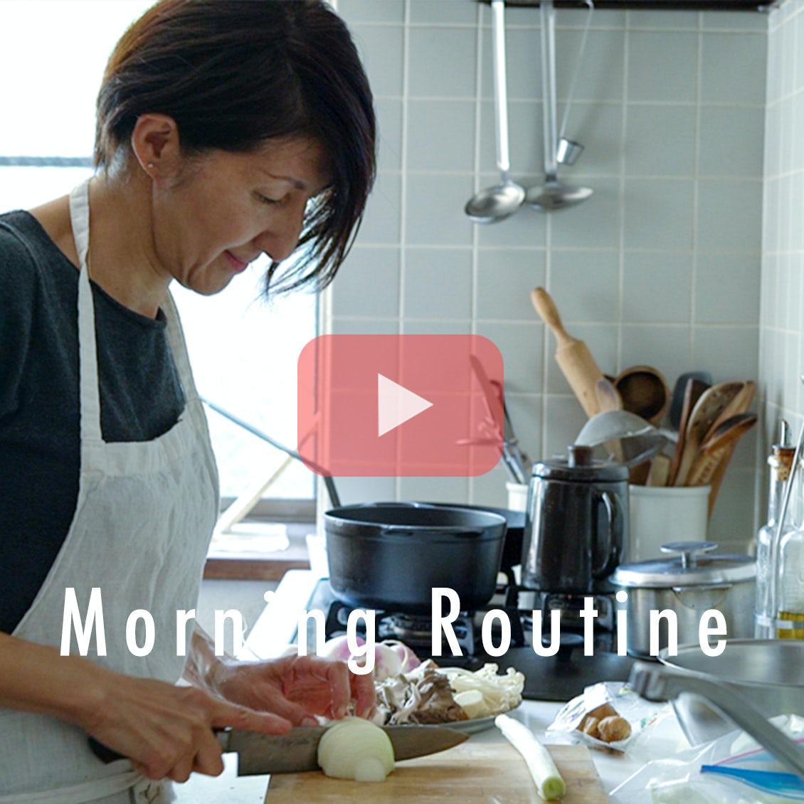 【わたしの朝習慣】野菜を切っておくだけでも。夜の自分をラクにするための家事ルール
