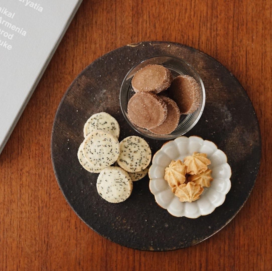 【僕のおやつ日記】冬の新作!「和の素材」をテーマに、クッキーボックスを作りました!