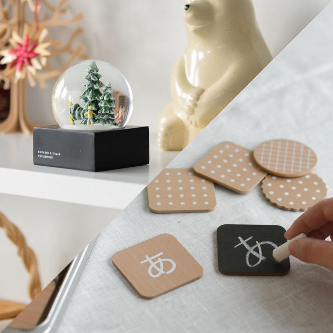 【新商品】クリスマスの贈り物に!当店オリジナル「スノードーム」とインテリアに馴染む「おもちゃ」が新登場です。