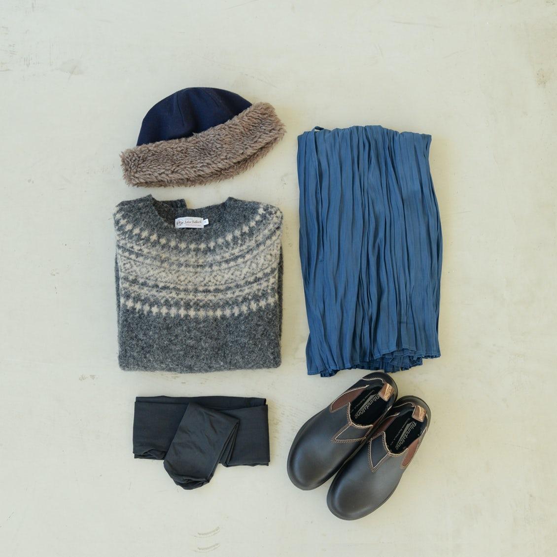 【Buyer's Selection】長く大切に着たいと思えるニットがある冬。