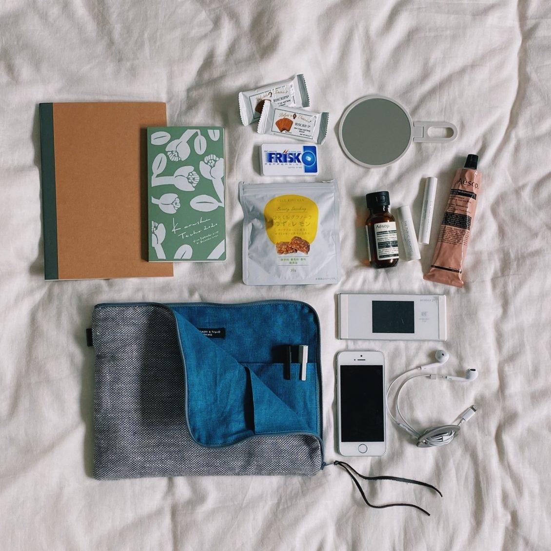 【スタッフの愛用品】鞄の中でも外でも大活躍♪「当店のバッグインバッグ」が使いやすい3つの理由