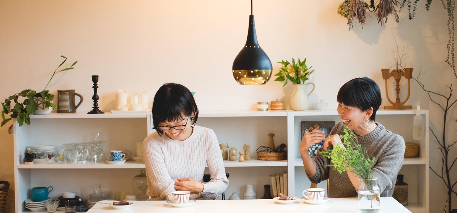 佐藤友子×土門蘭の『なんとか暮らしてます』 インテリア編の画像