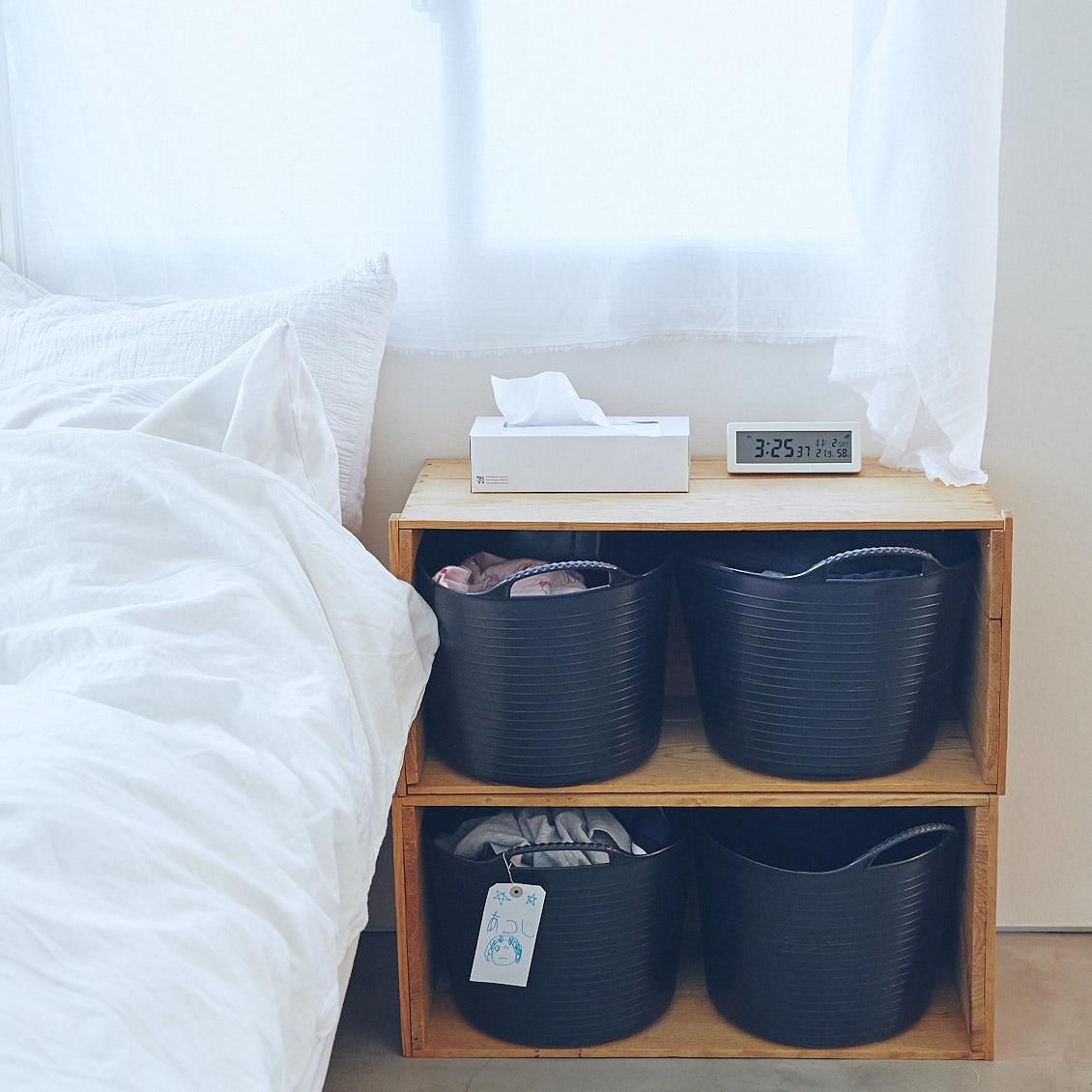 【収納ボックス】バケツ型・仕切り型・蓋つき……用途で変わる、収納ボックスのアイデア