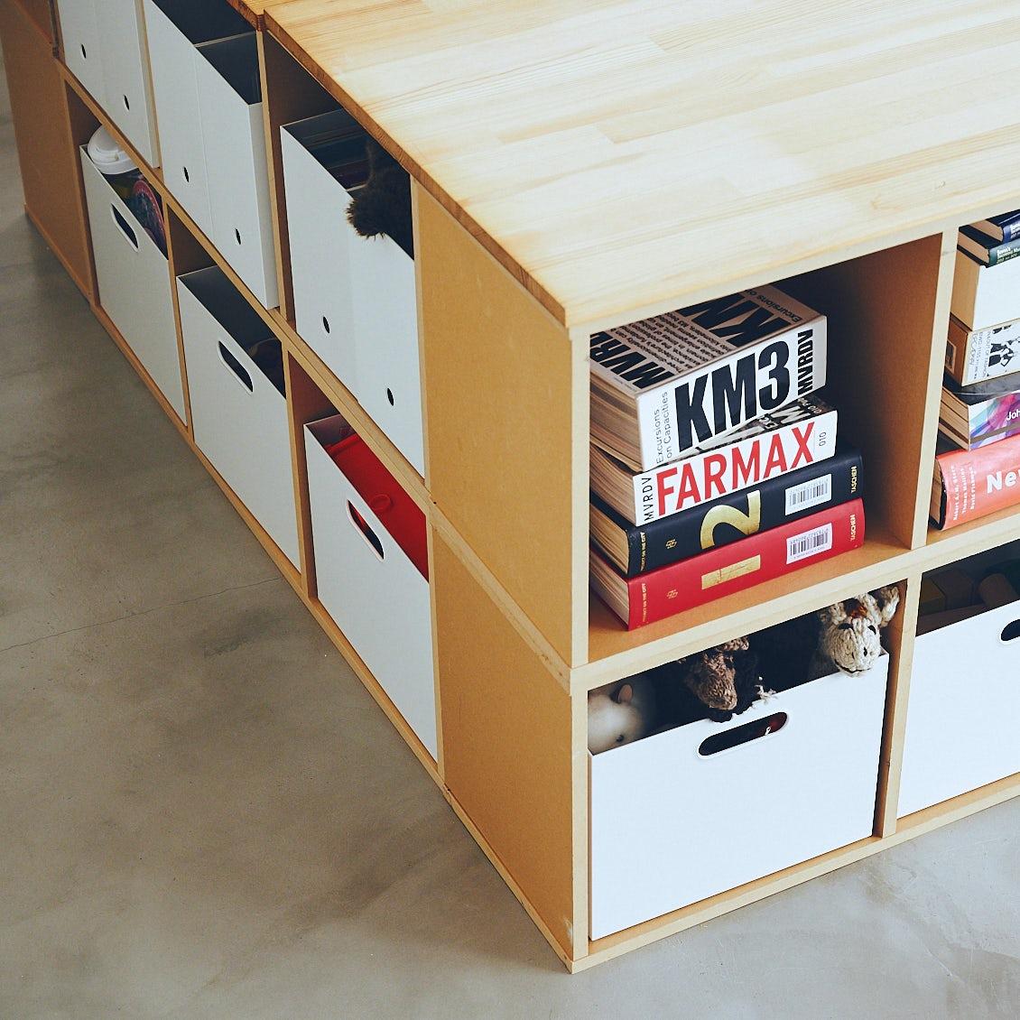 【収納ボックス】並べるほどに美しい。無印良品「ファイルボックス」の使い方