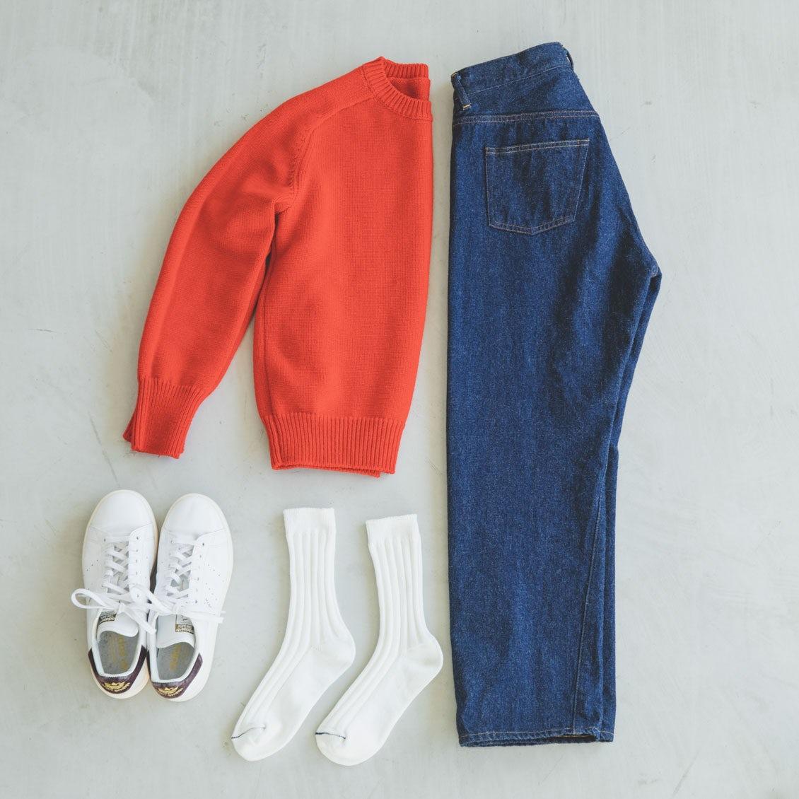 【大人の靴下マニュアル】「白ソックス」をおしゃれに履きこなす!アイテム選びとコーデ術