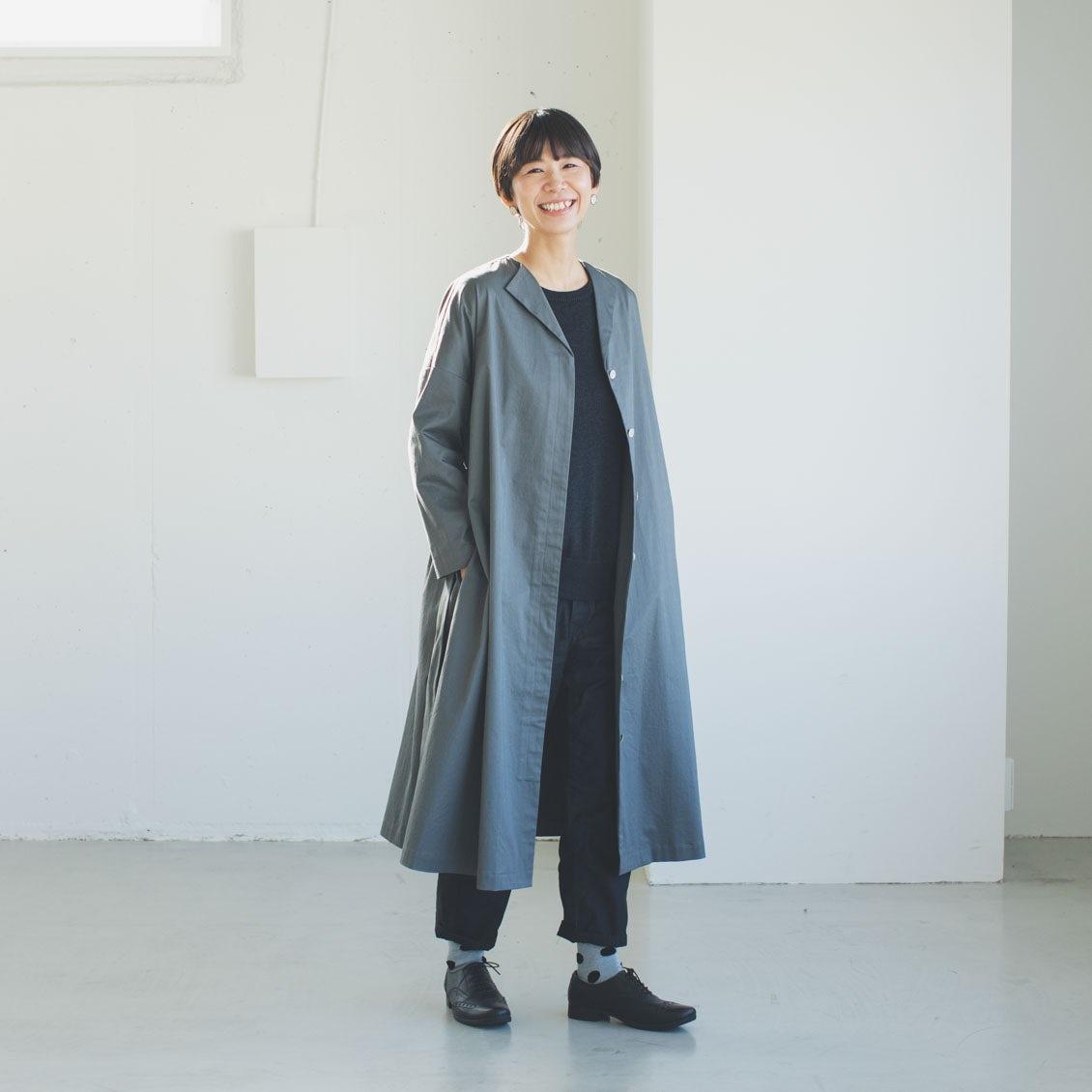 【スタッフ着用レビュー】utiliteの2WAYワンピースコートを、3名のスタッフが着てみました!