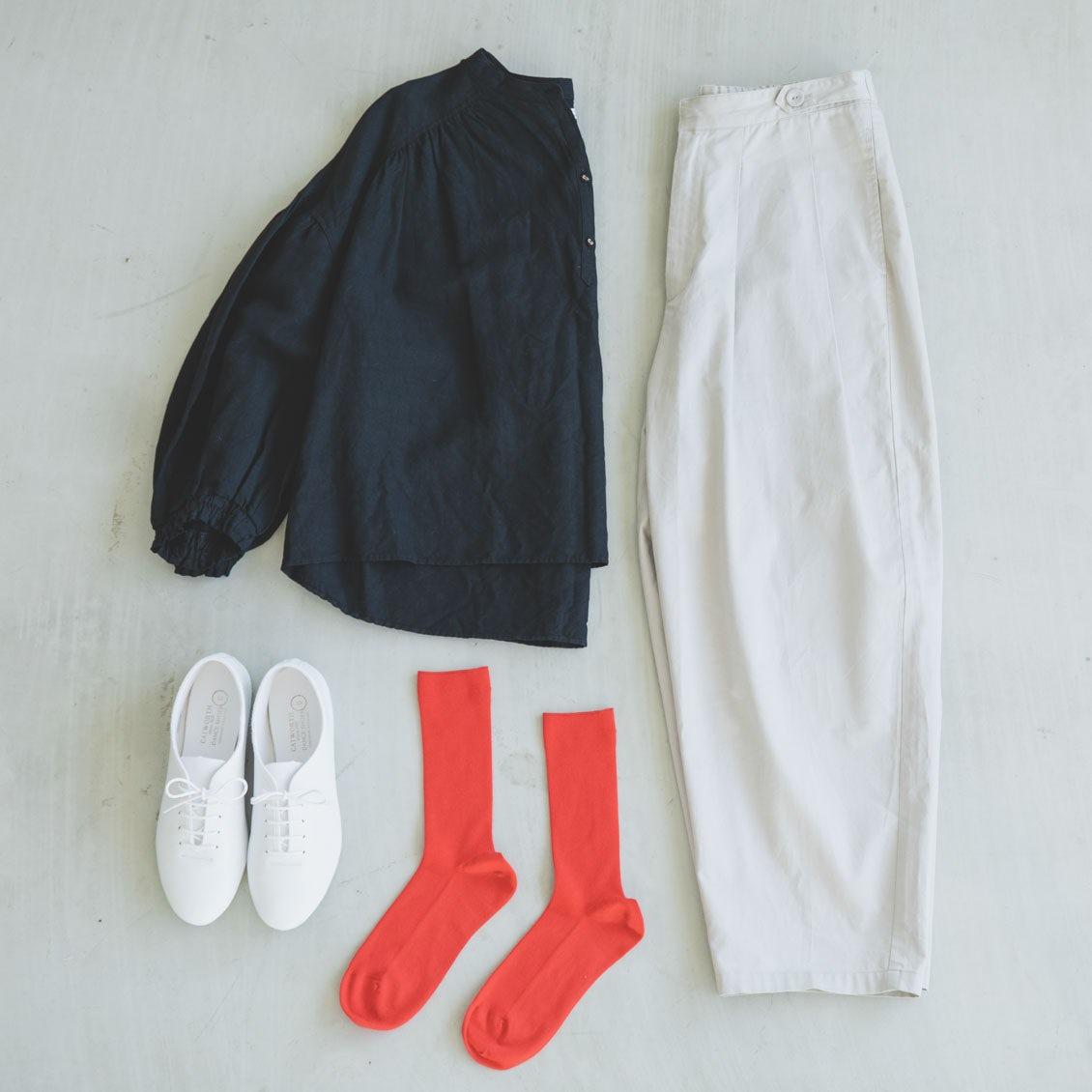 【大人の靴下マニュアル】失敗しない、色・柄ソックスの合わせ方