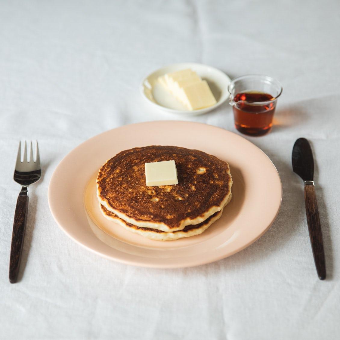 【野菜すきになあれ】第2話:レンコンでふわふわ・もっちり食感に!パンケーキのレシピ