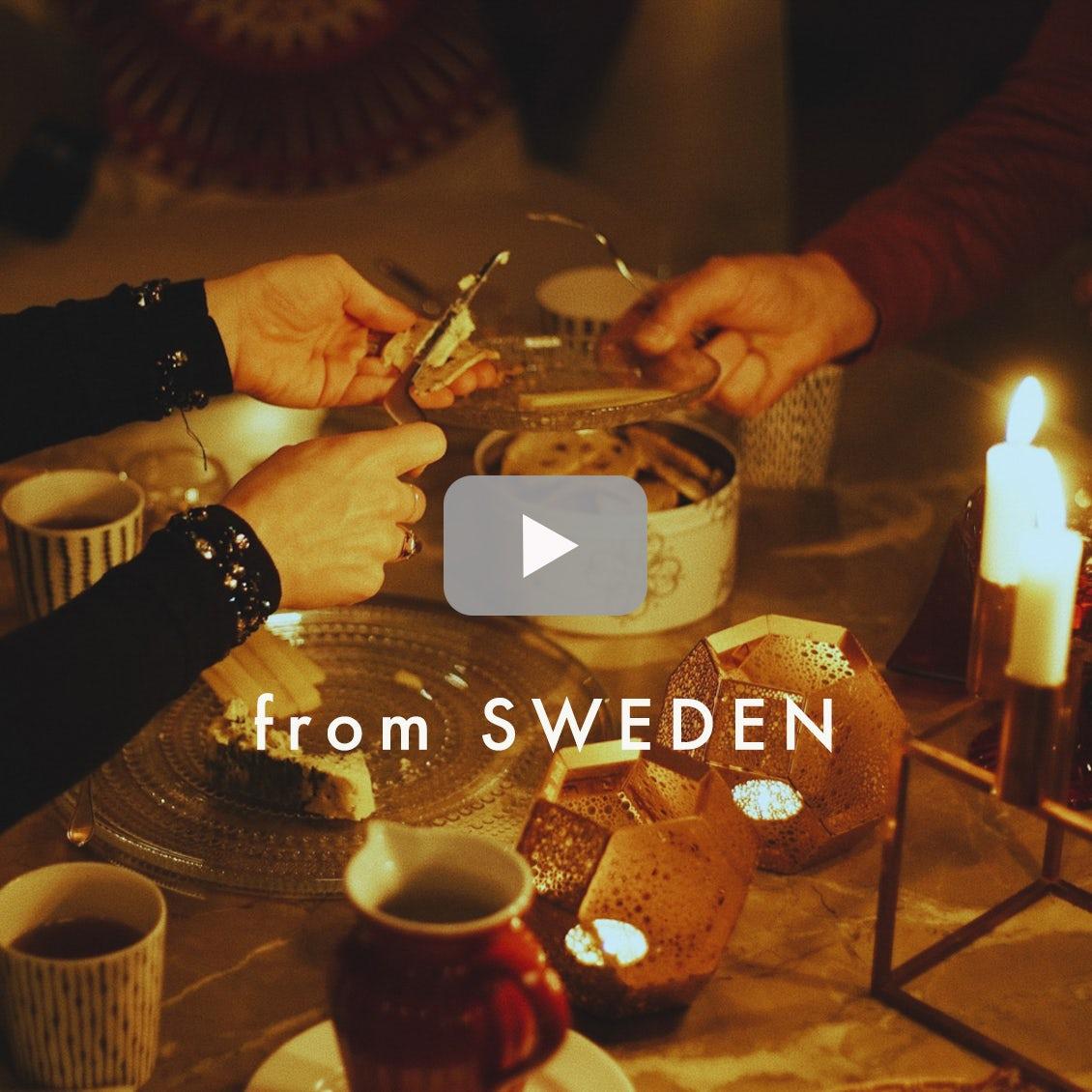 【北欧に暮らすひと】03:スウェーデンの長い夜の過ごしかた「家族で過ごすフィーカ」