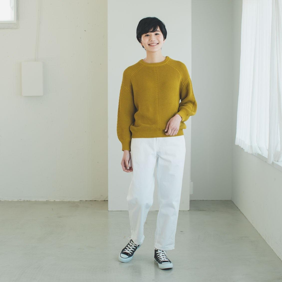 【新商品】いまの時期から春まで大活躍!編み地やシルエットにこだわったコットンニットが登場です。