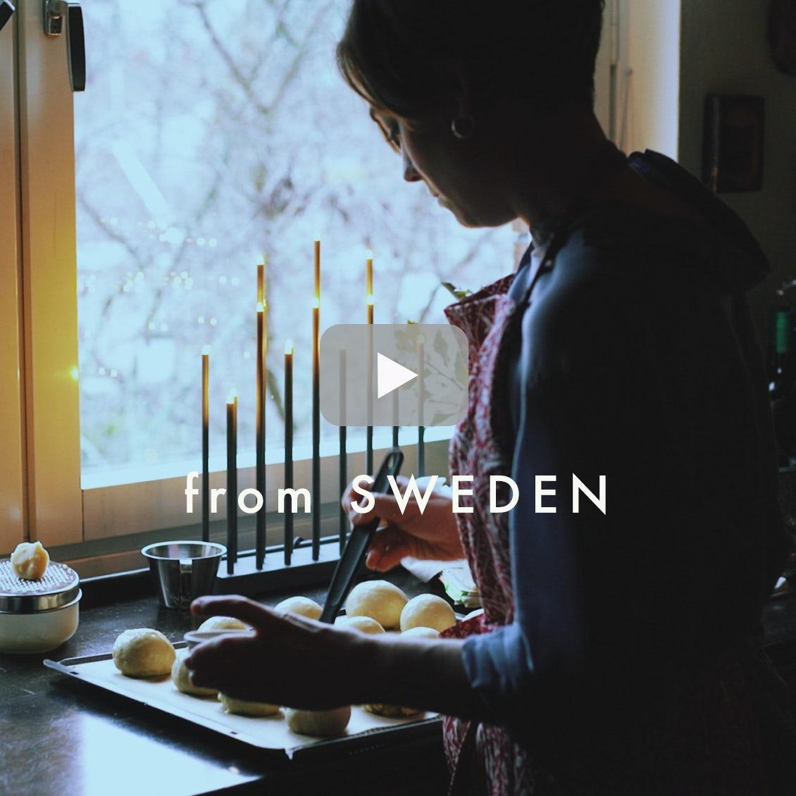 【北欧に暮らすひと】04:スウェーデンの春といえば…。おばあちゃんのレシピでつくる伝統菓子