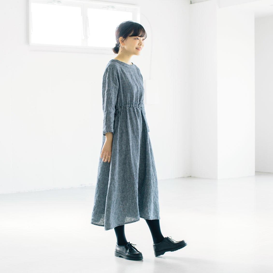 【スタッフ着用レビュー】当店別注!fog linen workのワンピースを、4名のスタッフが着てみました