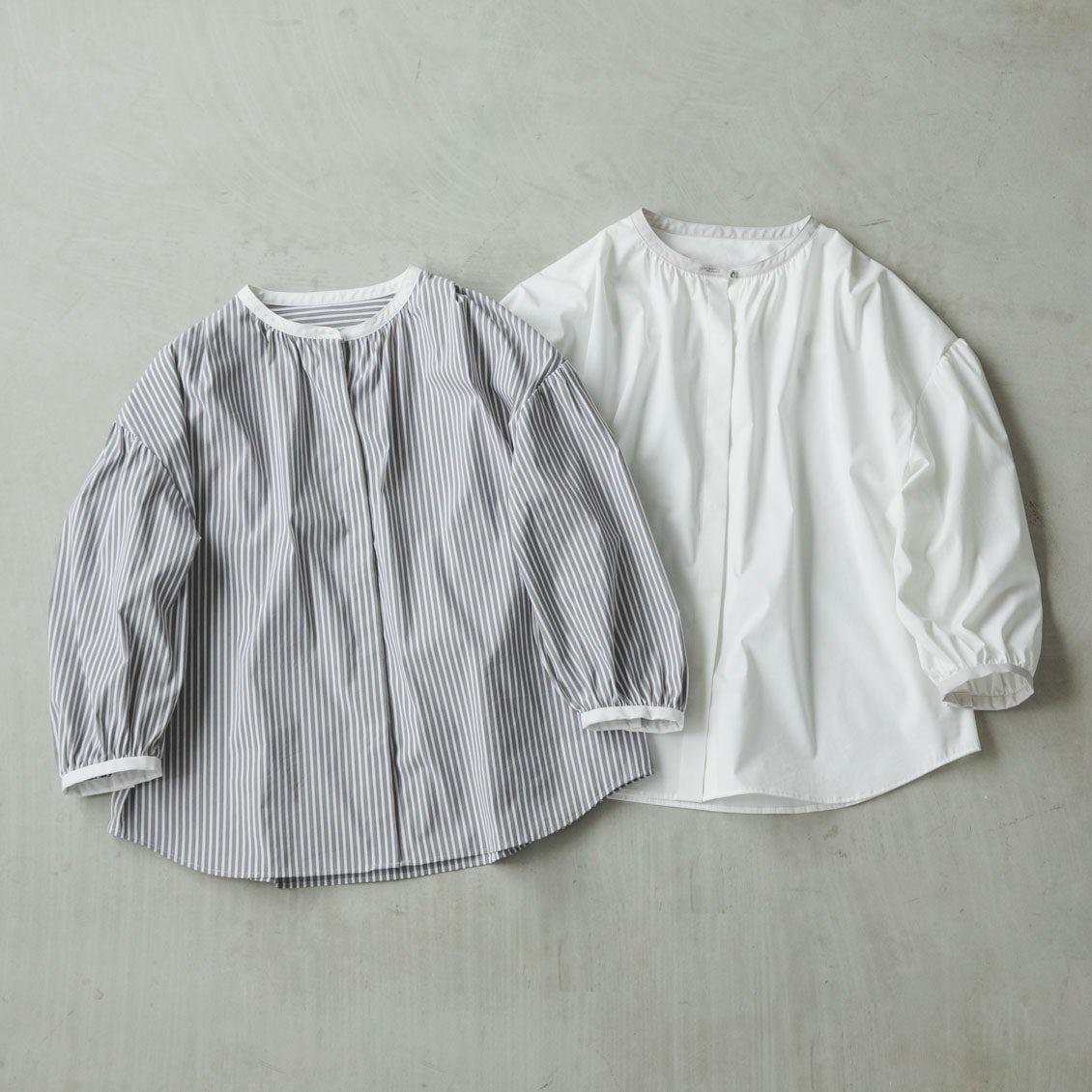 【新商品】はじまりの季節、これなら!と思えるディテールにこだわったシャツブラウスをつくりました。