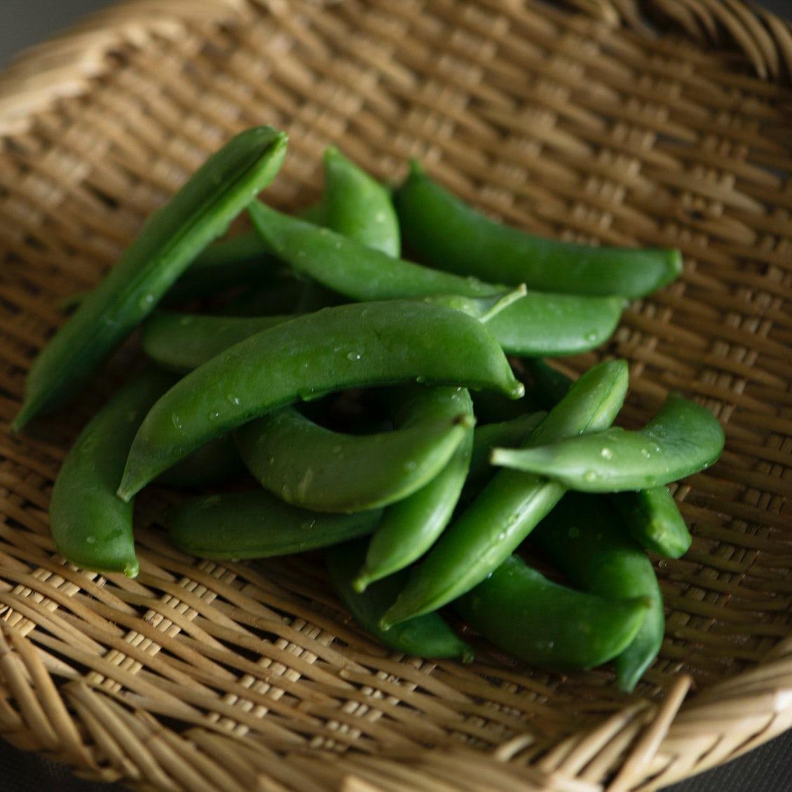 【春野菜をなんどでも】第2話:豆の甘さと栄養をぎゅっ。「スナップえんどう」のピラフと食べるスープ