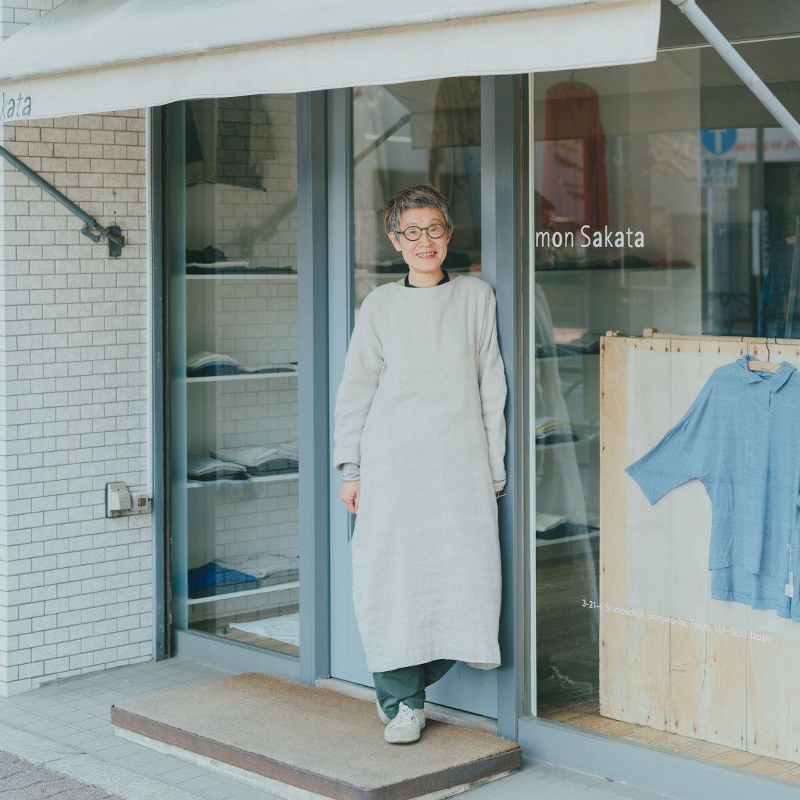 【おしゃれな人】第1話:モットーは「さりげない」こと。自分のおしゃれを楽しむ、72歳の女性(「mon Sakata」店主・坂田敏子さん)