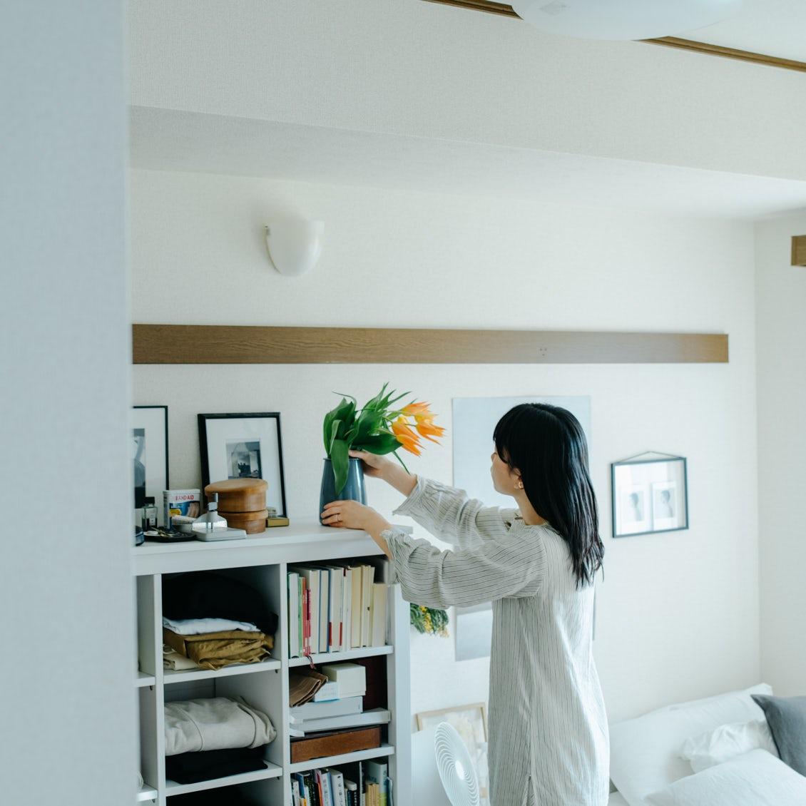 【花と暮らすを、始めたい】第3話:私が飾りたい場所は、たとえばここに
