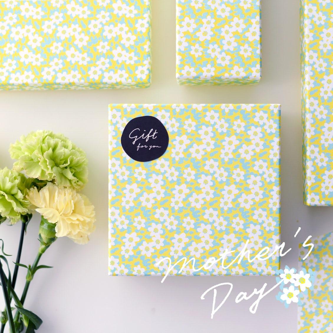 【特別企画】とびきりかわいいボックスで贈ろう♪「母の日限定ギフト」が5種類になって今年も登場です。