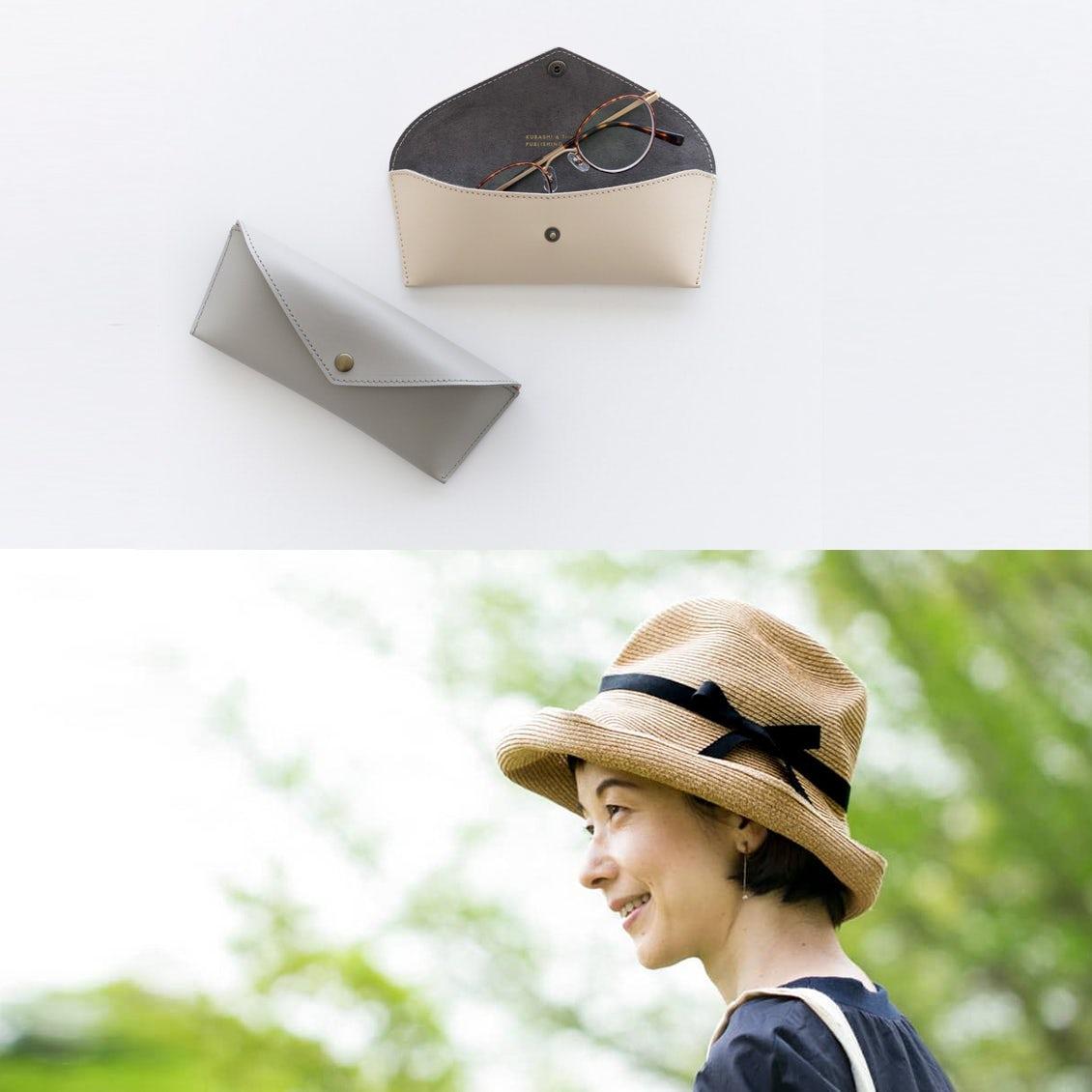 【新商品&再入荷】コンパクトなメガネケースがオリジナルで登場!人気のmature ha.の帽子も再入荷です♩